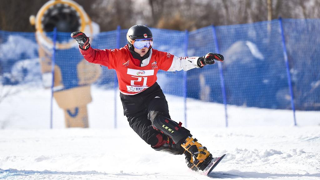 Heilongjiang sweeps women's giant slalom podium at Chinese National Games
