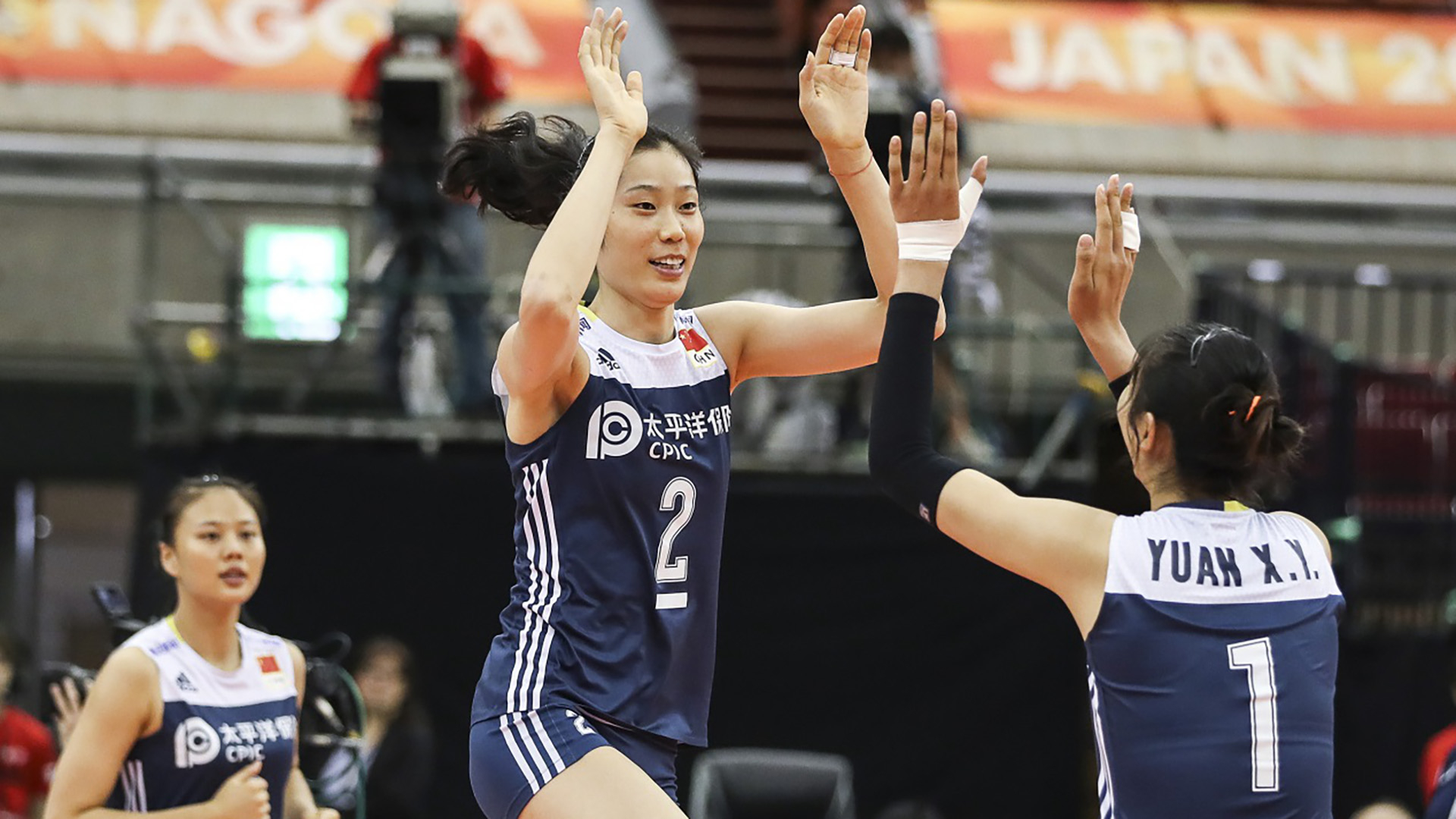 Tianjin hold off Beijing for Chinese women's volleyball league finals