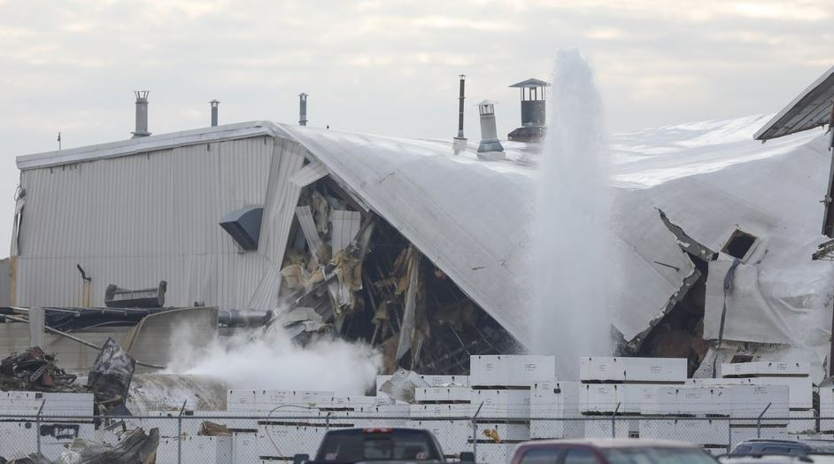 At least 15 injured in US aviation plant explosion