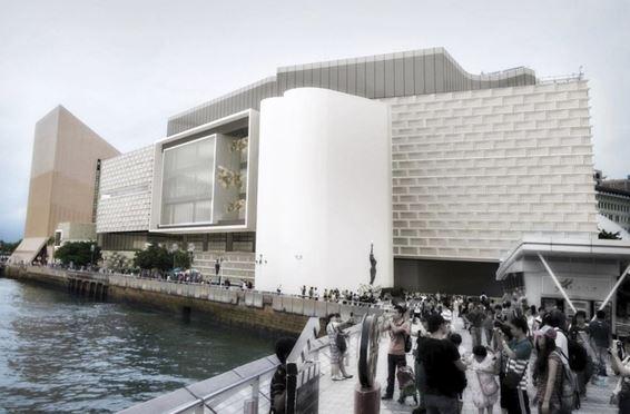 HKSAR chief executive eyes art museum to help improve Hong Kong's art, culture