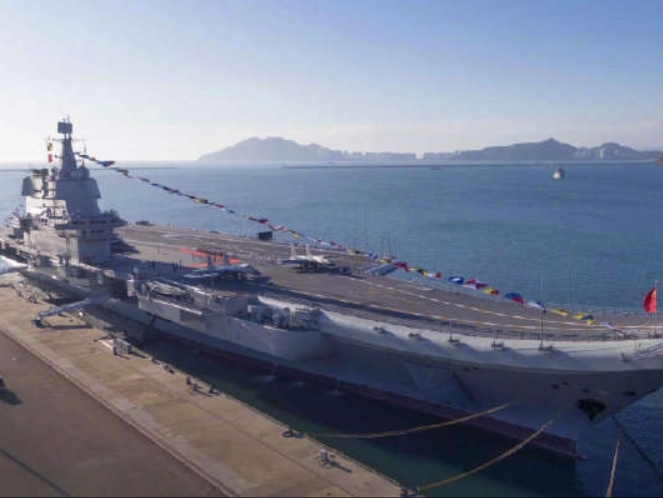 China's first self-made aircraft carrier enters active service