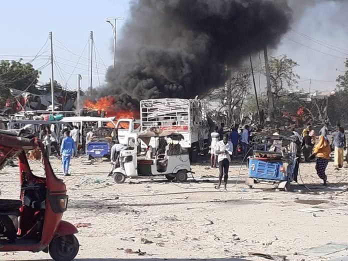 Death toll from suicide truck bomb attack in Mogadishu rises to 76: charity