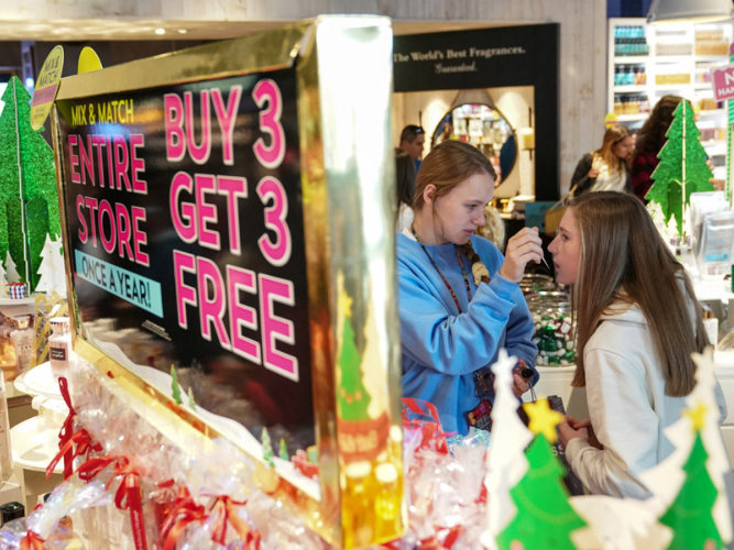 Stores share in festive cheer as sales climb