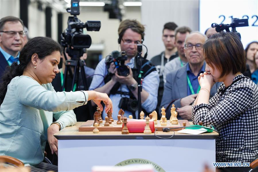 Highlights of 2019 King Salman World Chess Rapid Women Championship