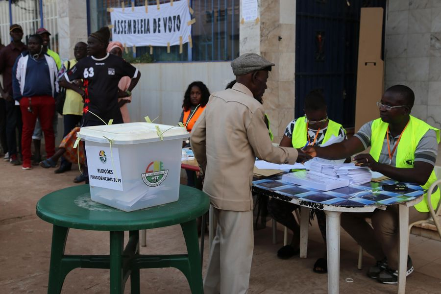 Presidential election runoff kicks off in Guinea-Bissau