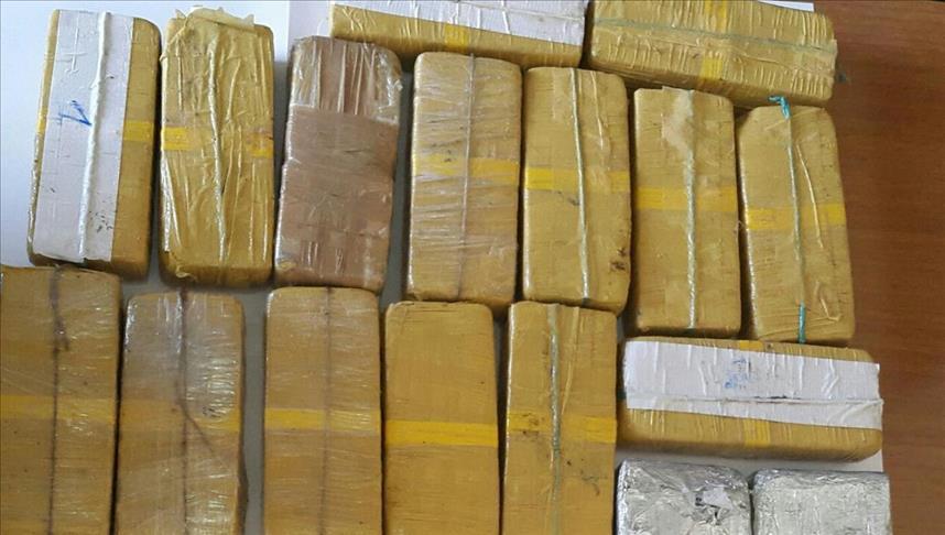 Police seize 1.3 mln stimulants in eastern Myanmar