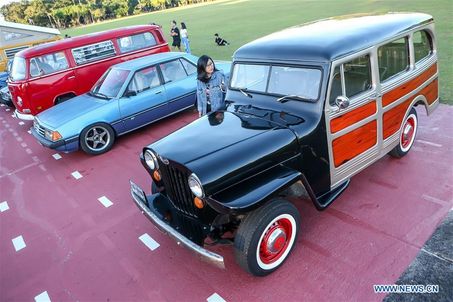 Highlights of vintage car exhibition in Quezon City, the Philippines