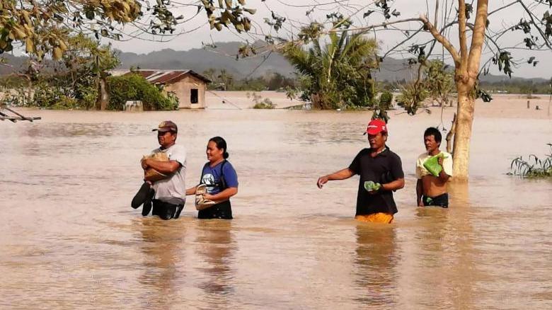 Philippine typhoon death toll rises to 47, 9 still missing