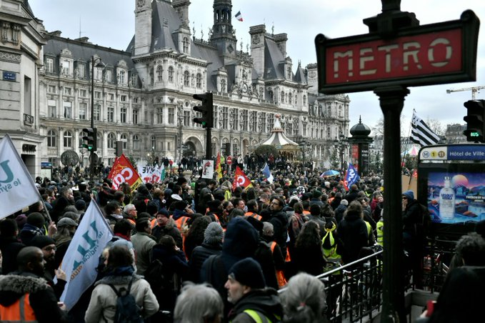 France waits on Macron as pension strike stretches on