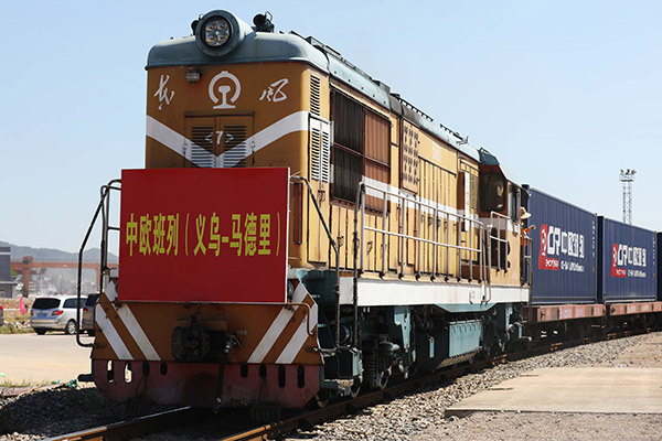 Direct train links speed up Chinese goods export to Europe