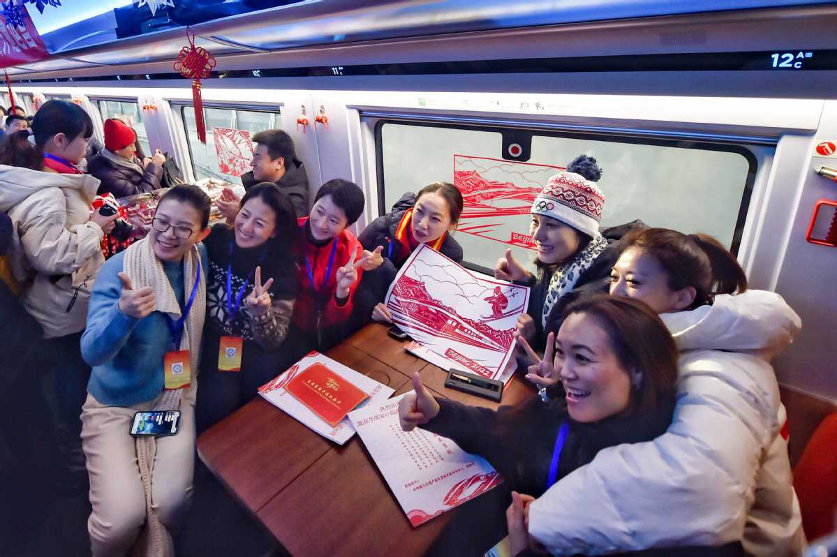 Passengers flock to experience first trip