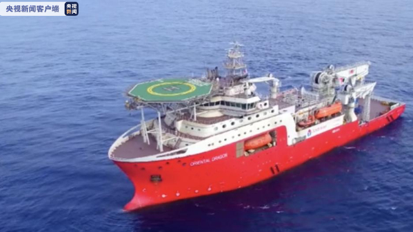 China delivers new support ship for saturation diving