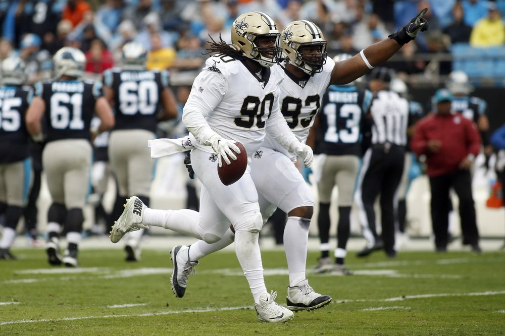 Saints finish 13-3 but miss out on first-round bye