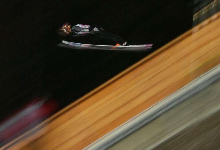 Japan's Kobayashi starts Four Hills defense with win