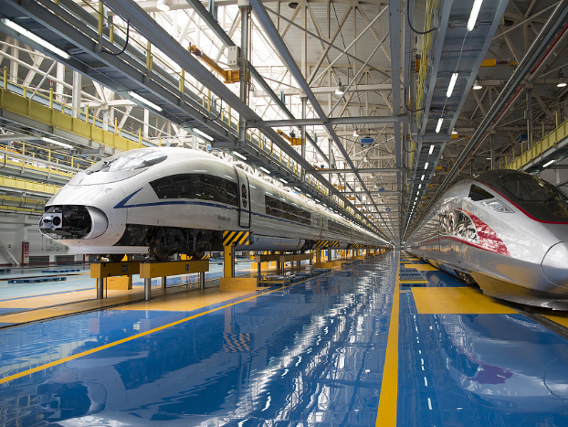 High-speed rail links Datong and Xi'an