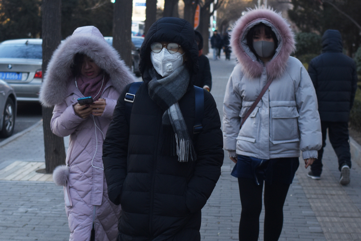 Freezing cold sweeps across China ahead of New Year
