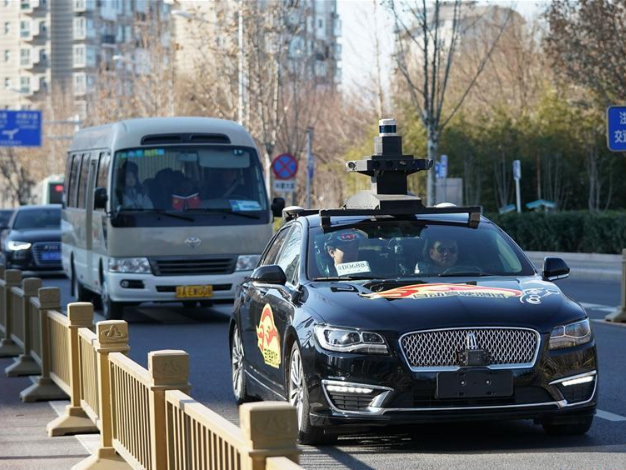 Beijing adds area for self-driving vehicle tests with passengers