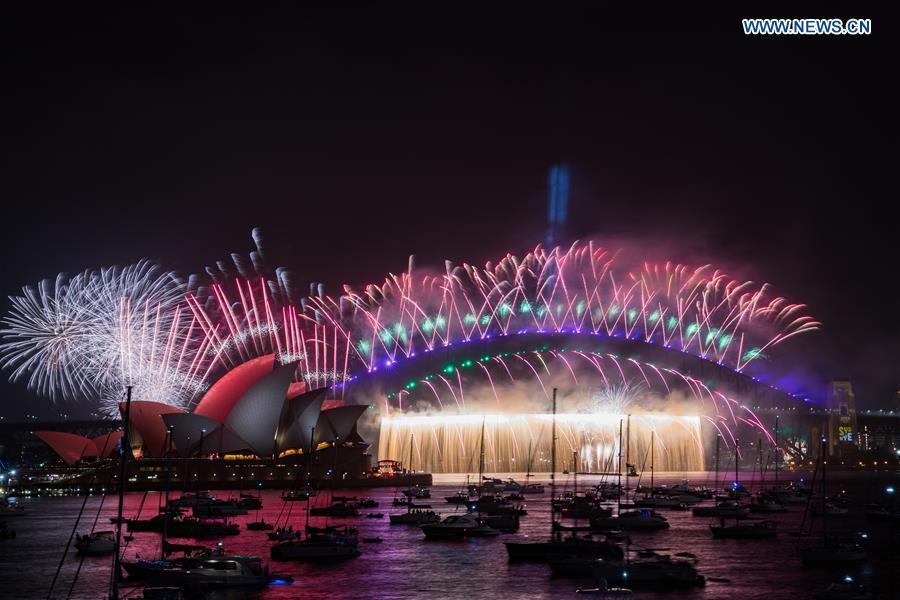 New Year's celebrations around world