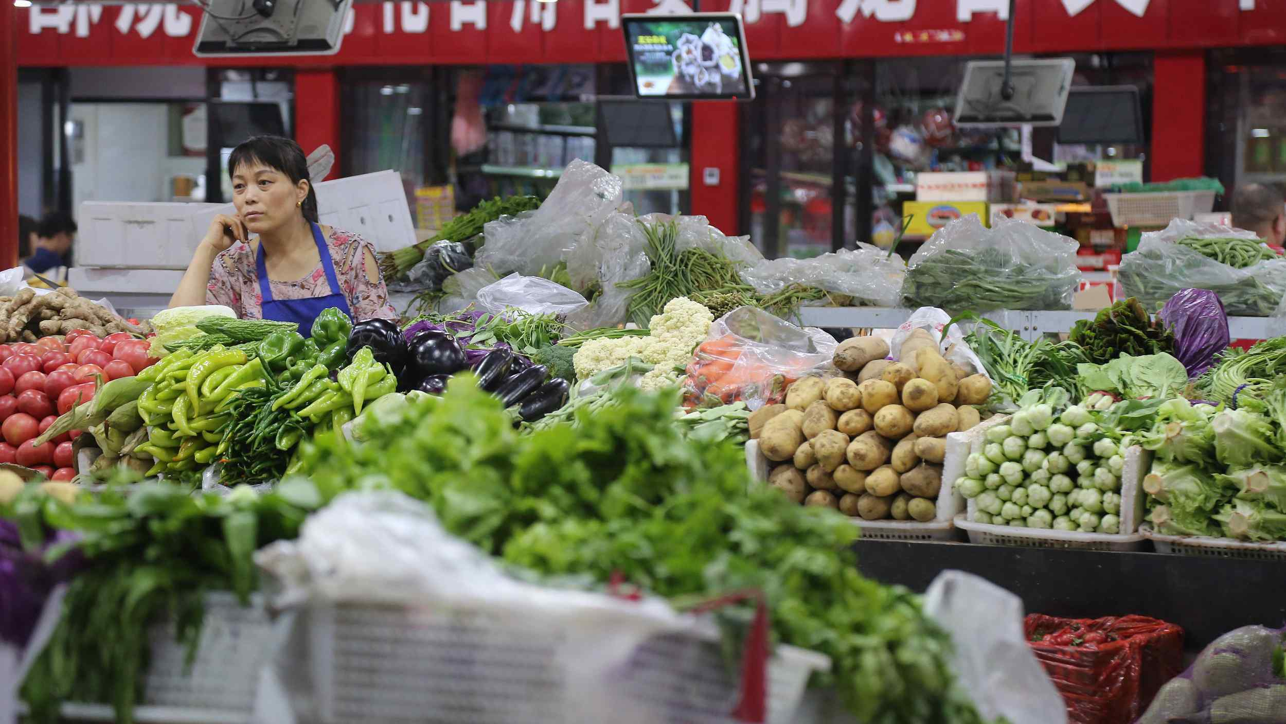 China's weekly farm produce prices edge up
