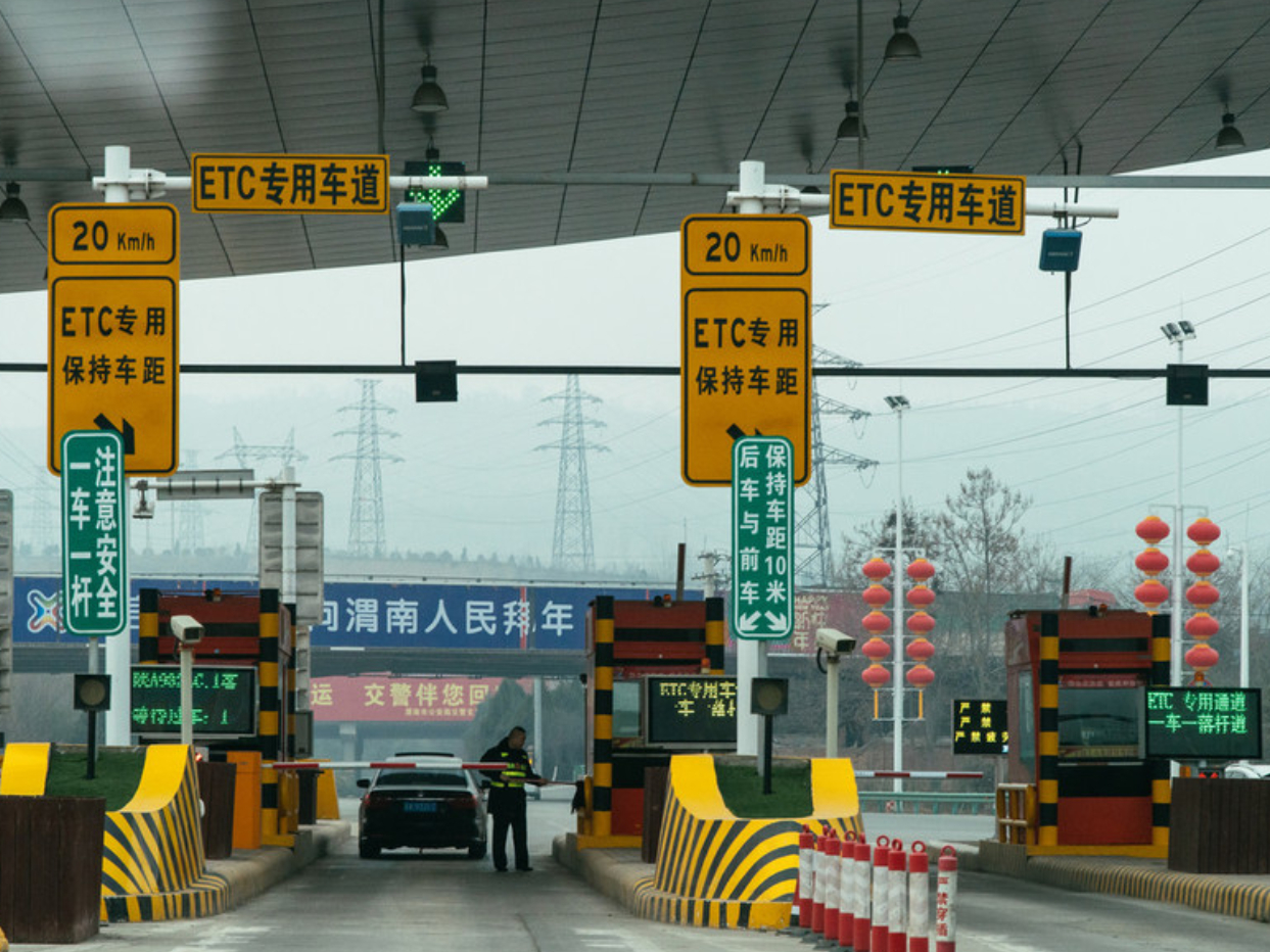 China automates all expressway toll booths at provincial borders