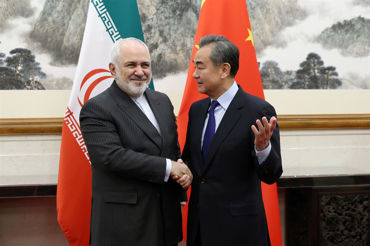 China and Iran to strengthen cooperation