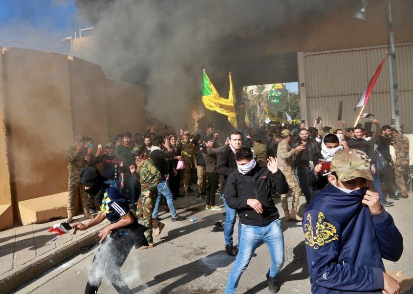 Trump blames Iran for demonstrators storming US Embassy in Baghdad