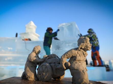 9th China Harbin Int'l Ice-Assemblage Championship held in Harbin