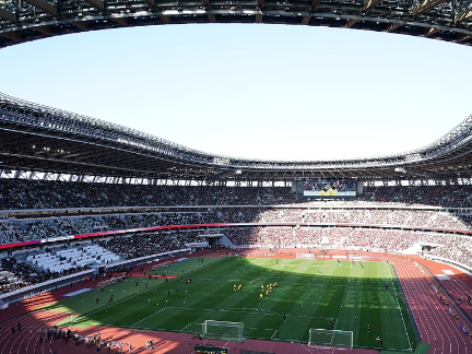 2020 Tokyo Olympics main venue successfully stages 1st major event