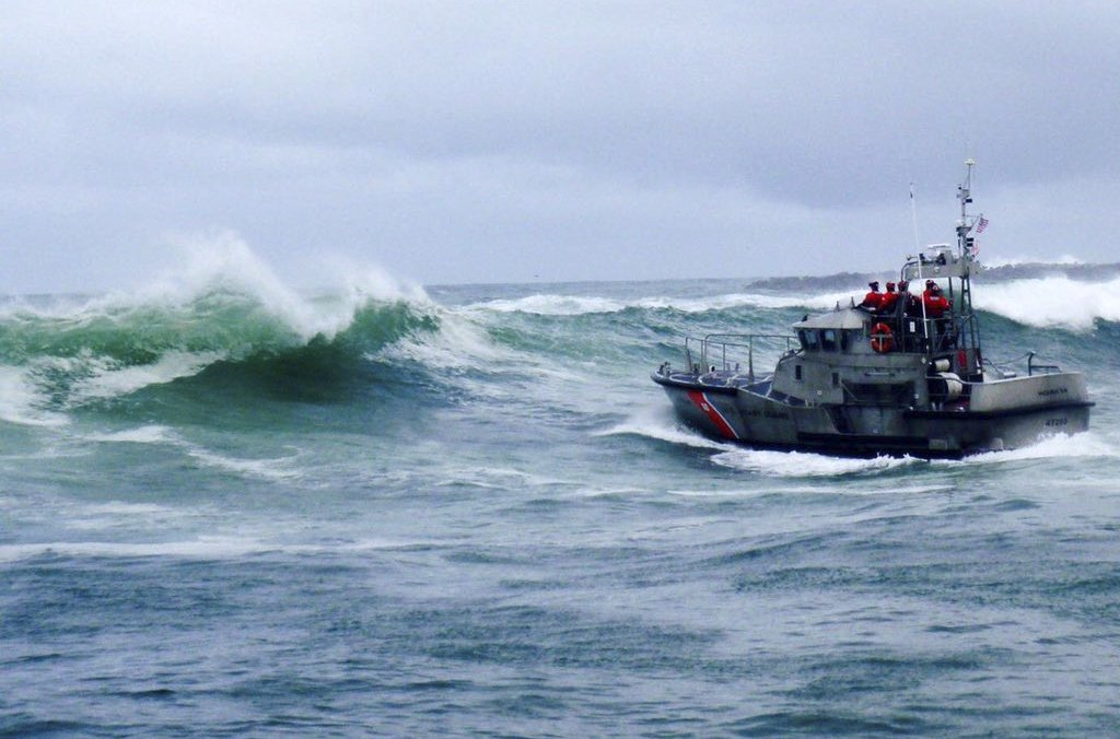 Coast Guard says 5 missing after crab boat sinks in Alaska