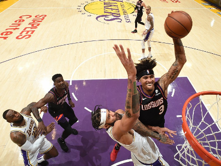 NBA highlights on Jan. 1: Lakers, Suns put on a 'roller-coaster'