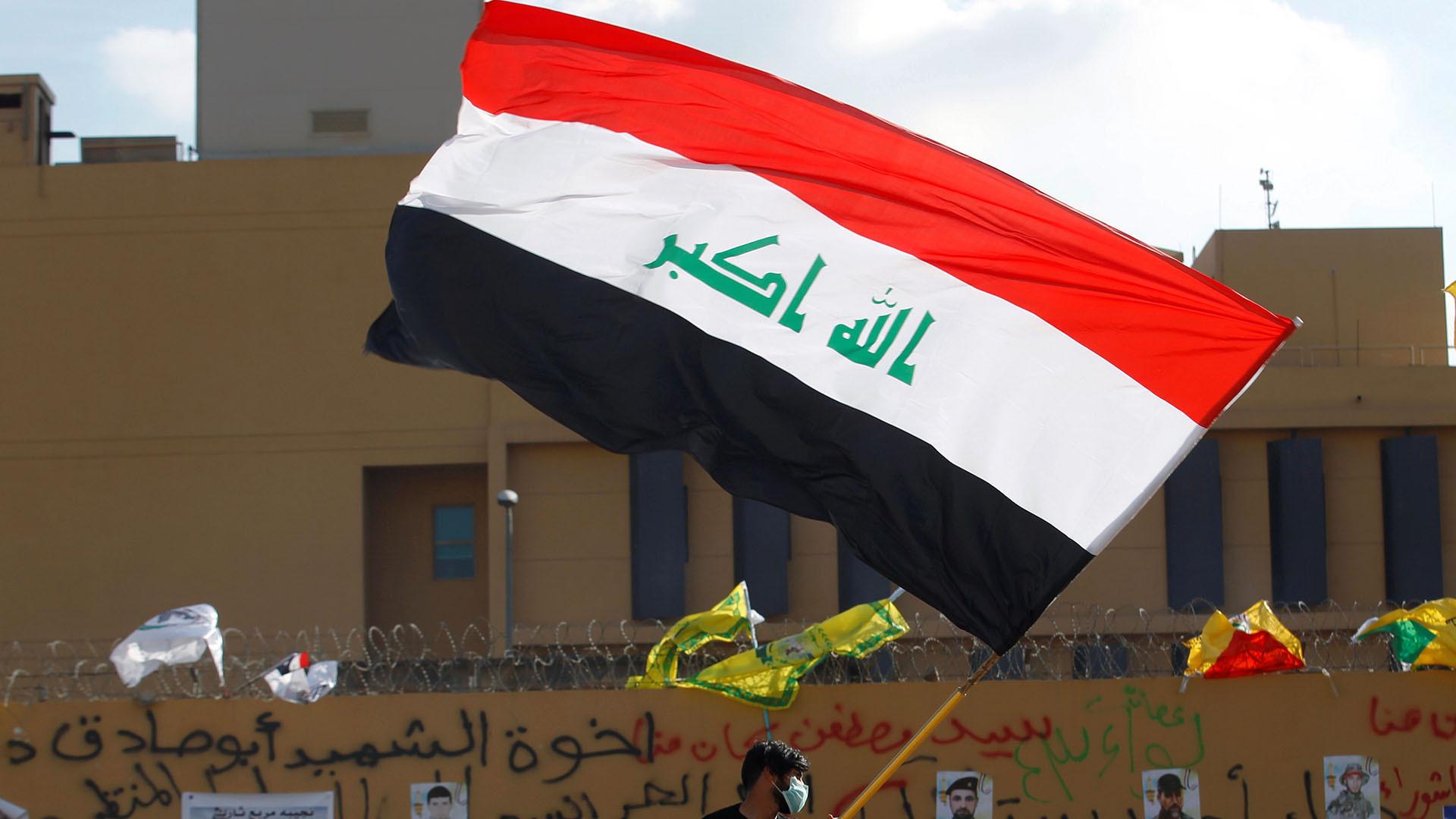 Iraqi militia members leave US embassy after raucous protests