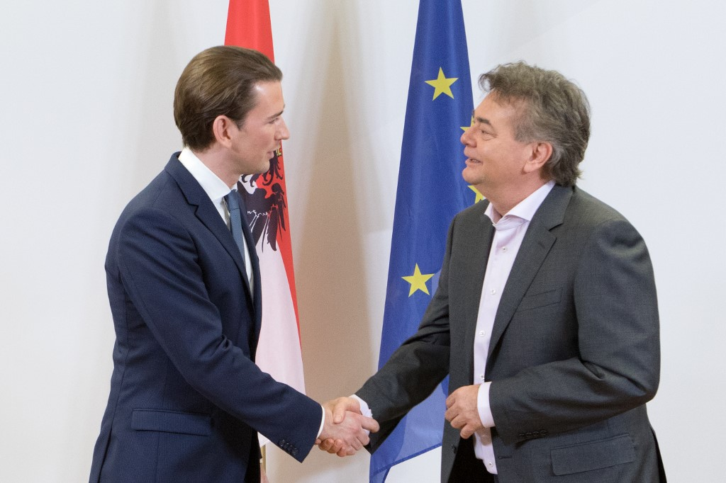 Austria conservatives, Greens agree to form government: officials