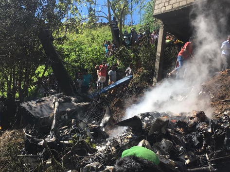 Sri Lankan military aircraft crashes in Haputale, killing four military personnel