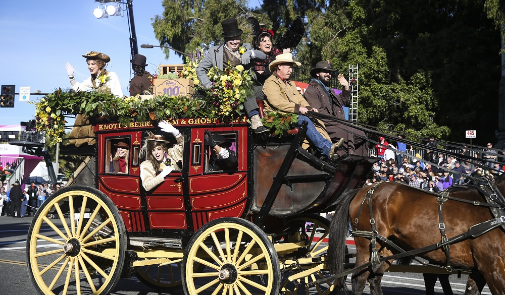 Chinese-themed float shines at 2020 Rose Parade