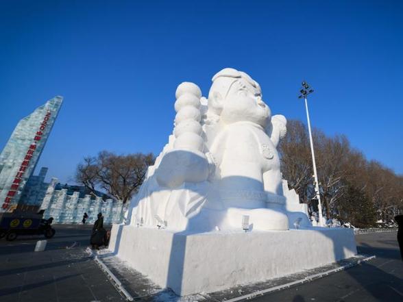 2,020 snowmen to greet New Year