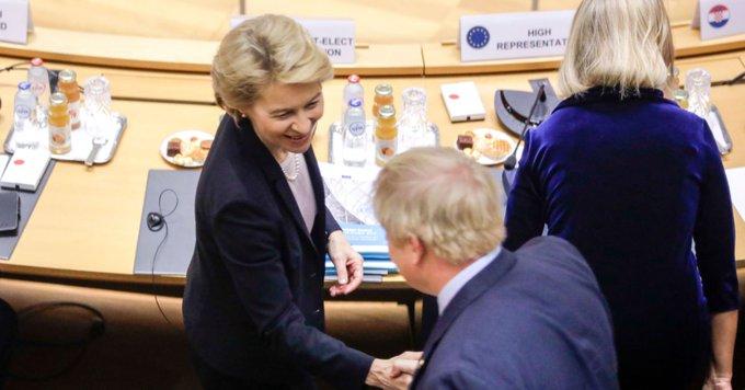 EU's von der Leyen to meet UK's Johnson in London