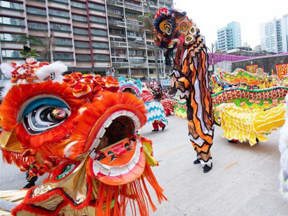 Macao Int'l Dragon and Lion Dance Day event