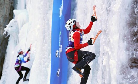 Ice Climbing World Cup gets underway in northeast China