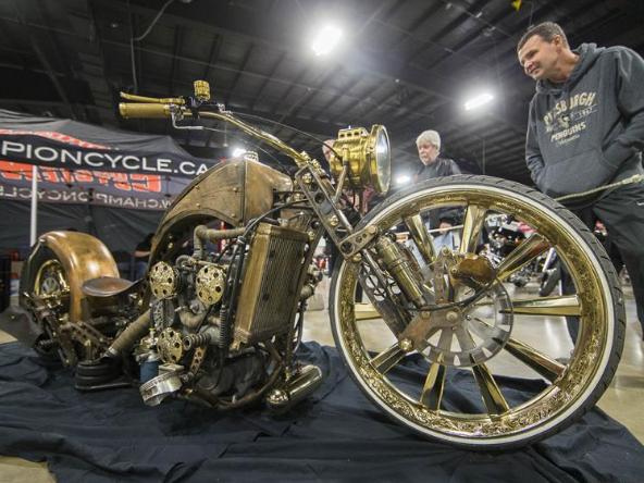 2020 North American International Motorcycle Supershow held in Toronto, Canada