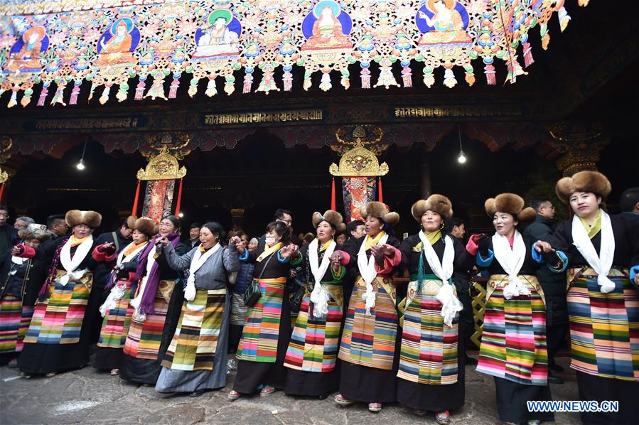 Fairy's Day celebrated in Lhasa, SW China's Tibet
