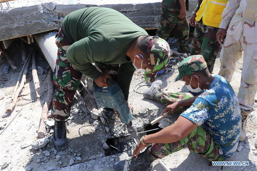 7 died, 18 injured after building collapse in Cambodia