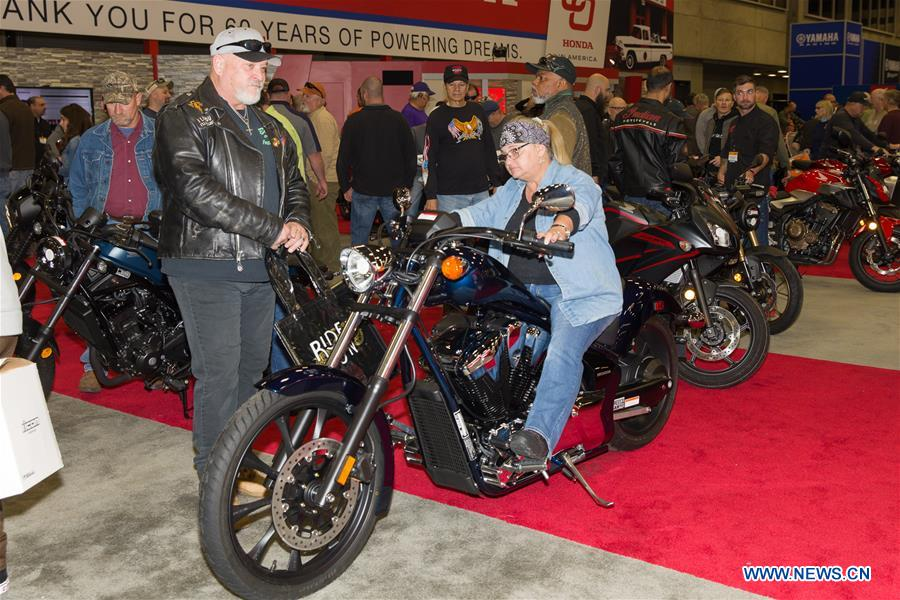 Dallas Int'l Motorcycle Show held in Texas, US