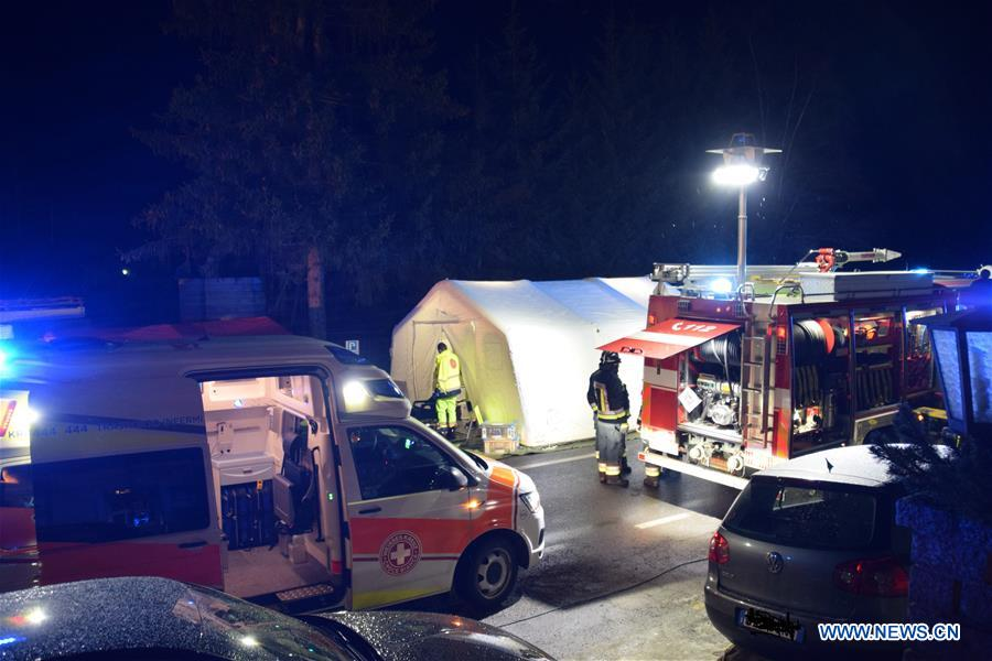 Six killed, 11 injured as car plows into crowd in northern Italy