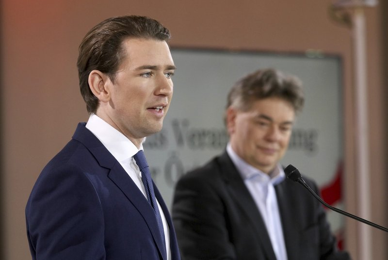 Austria's Greens clear final hurdle for government with Kurz