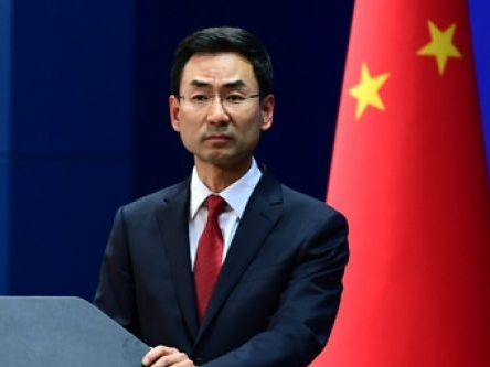 China urges easing of tensions in Middle East, opposes US military measures
