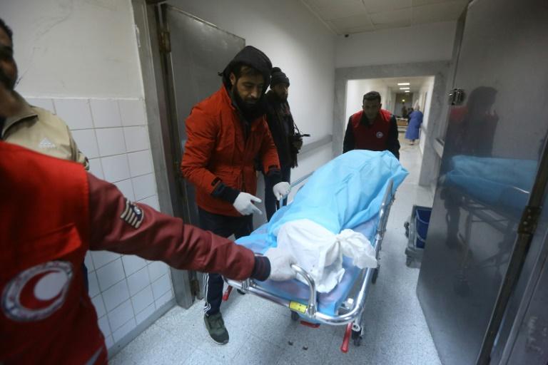 At least 28 dead in raid on Tripoli military school: ministry