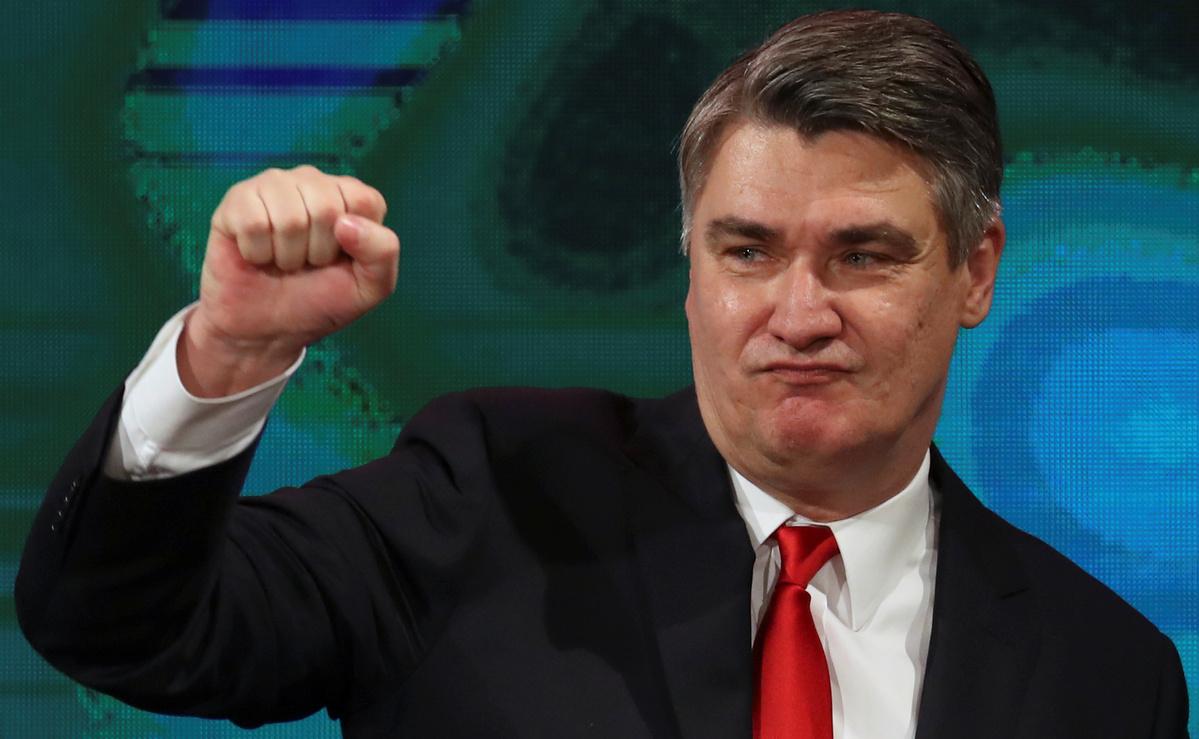 Zoran Milanovic wins Croatian presidential election in runoff vote
