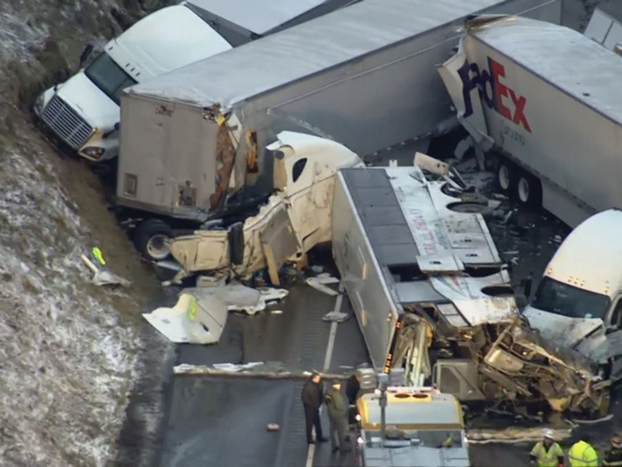 No Chinese national reported killed in Pennsylvania pileup