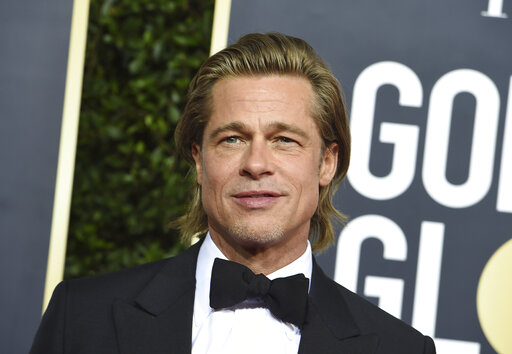 Brad Pitt wins best supporting actor Golden Globe for 'Once Upon a Time'