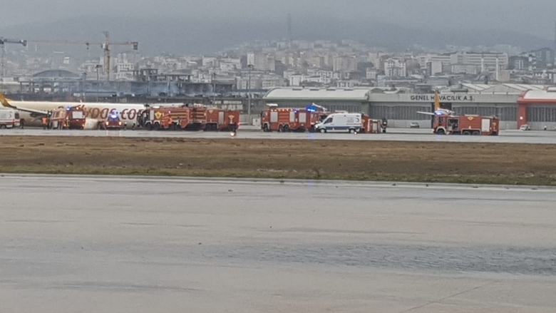 Plane skids off runway at Istanbul airport, no injuries reported